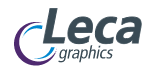 logotipo Leca Graphics