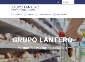Grupo Lantero presents its new corporative web